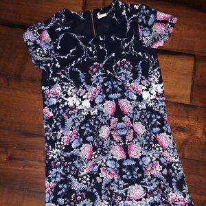 Floral tee dress